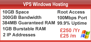 Cheap Virtual Server Hosting UK